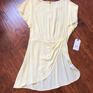 Leith Soft Yellow Tunic size Small